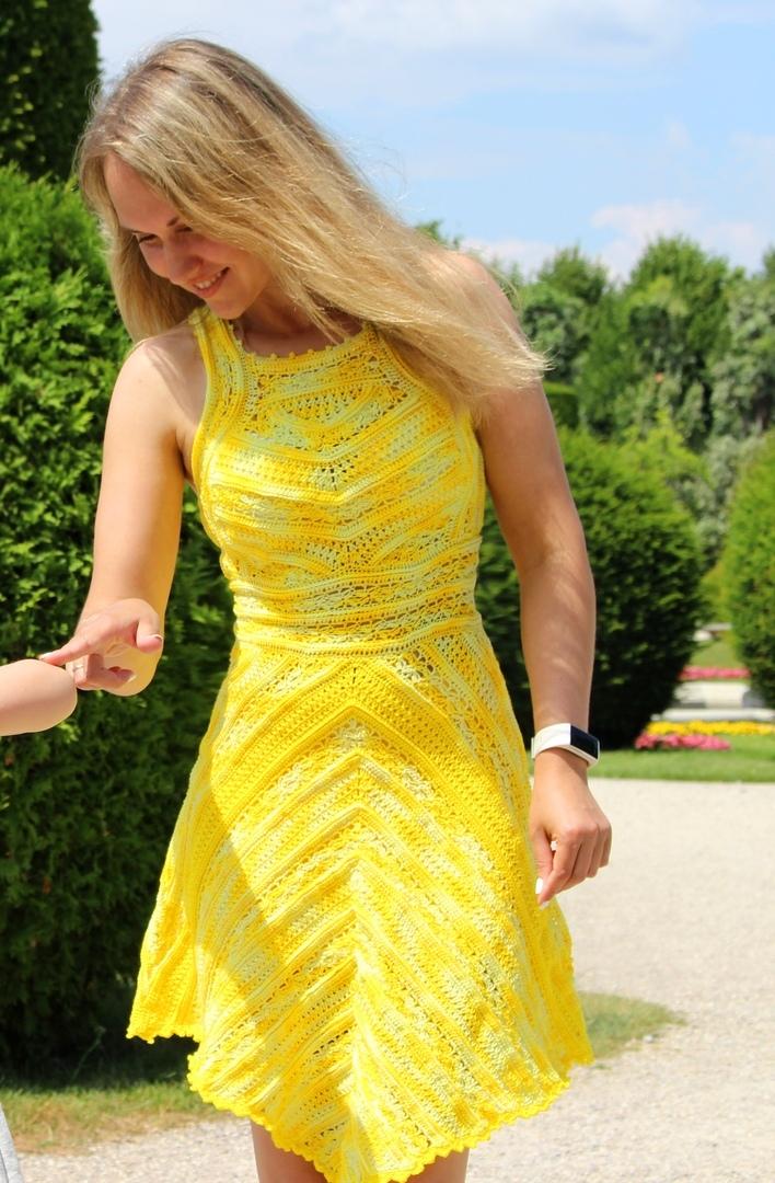 3b99e24fb37 . Платье Грейс Келли в Вене - Вязание - Страна Мам