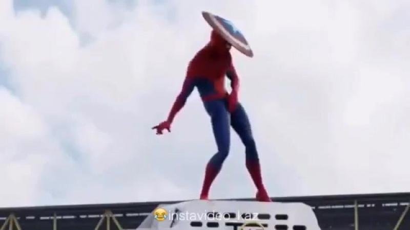 Человек паук казахская версия