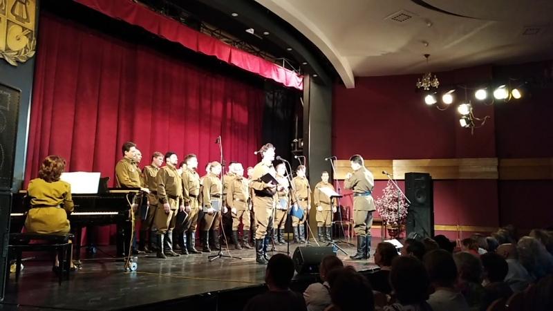 Песни Нашей Победы из концерта мужского камерного хора п/р В Рыбина