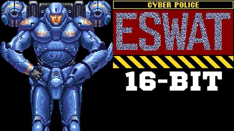 ЭЙ-СВАТ! ) - ESWAT Cyber Police City under Siege