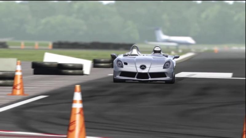 Mercedes-Benz SLR Stirling Moss Top Gear Track