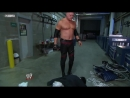 Edge smashes Paul Bearer with a steel chair 2010