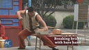Iron Body: 25-year-old Chinese man displays stunning Kung Fu skills
