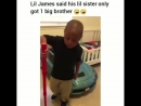 Lil James only got 1 big brother