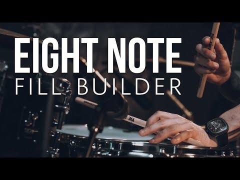 8 Note Fill Builder | Drum Lesson w/ Orlando Drummer