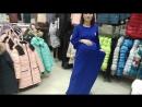 Платье Ванесса для беременных василек