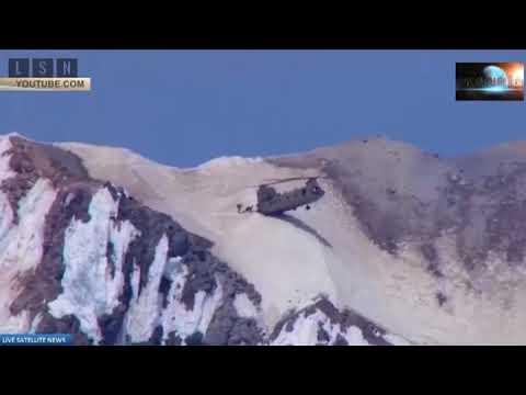 Вертолет ВВС США «воткнулся» в гору и улетел.