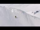 Прыжок в кратер вулкана с вертолета