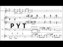 Jacob Collier P Y T Transcription