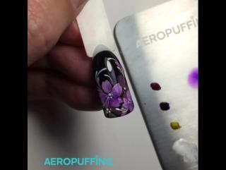 Аэропуффинг - это новое слово в дизайне ногтей!