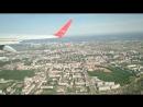 Nordwind Boeing 737-800 VP-BSK Чебоксары-Москва взлет 27.05.18