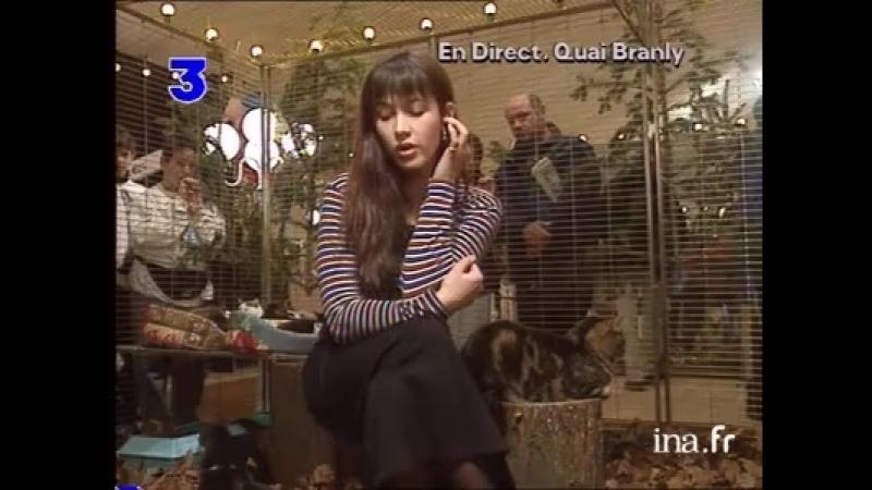 Duplex Sophie Marceau à propos du Noël des animaux