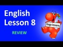 English Lesson 8 Review Learn animals names sing family song English with Gogo