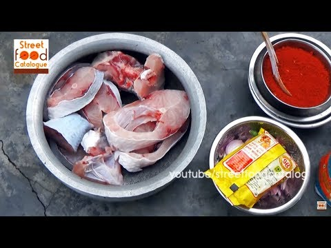 Village Style Yummy Fish Curry   How To Make Fish Curry   Indian Fish Curry   Village Food Factory