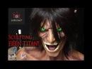 Sculpting Eren Titan - Attack on Titan - Shingeki no Kyojin - Timelapse Sculpt and Airbrush Demo