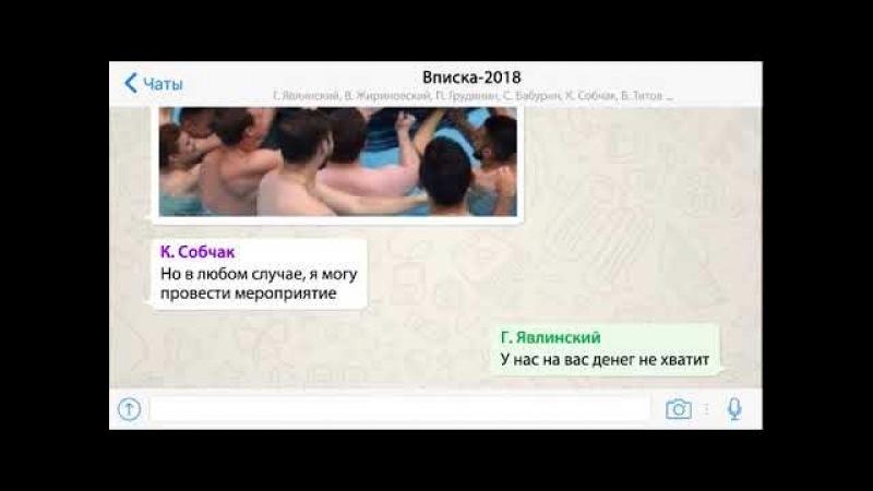 Чат кандидатов в Президенты 2018. Вписка-2018