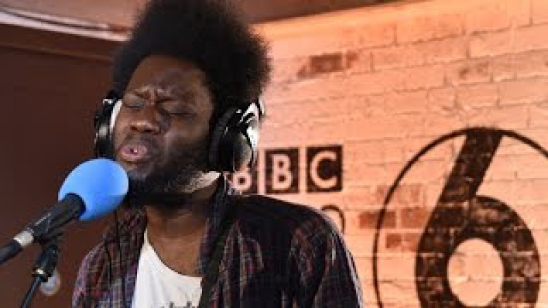 Michael Kiwanuka performs Fathers Child in the 6 Music Live Room.