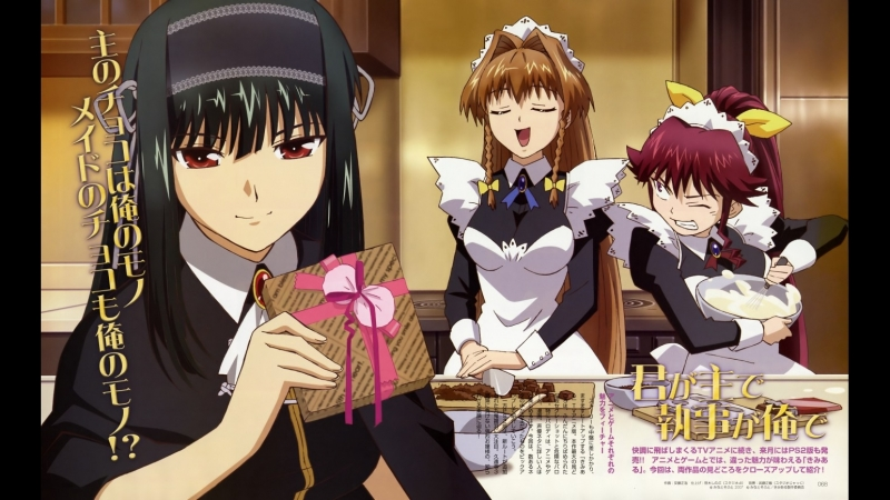 Ты – хозяин, я – слуга (13 серия) Kimi ga Aruji de Shitsuji ga Ore de, мультсериал