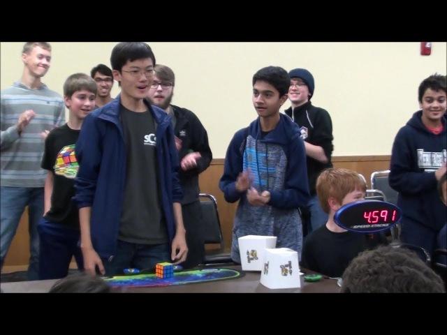 4 59 Rubik's Cube World Record SeungBeom Cho