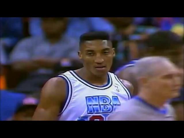 1992 NBA All Star Game Best Plays full game highlights МАТЧ ВСЕХ ЗВЁЗД НБА 1992