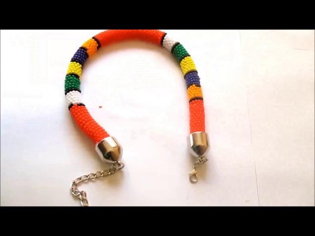 DIY Zulu beaded Ankara rope neck Halter tops Yemi Alade Inspired