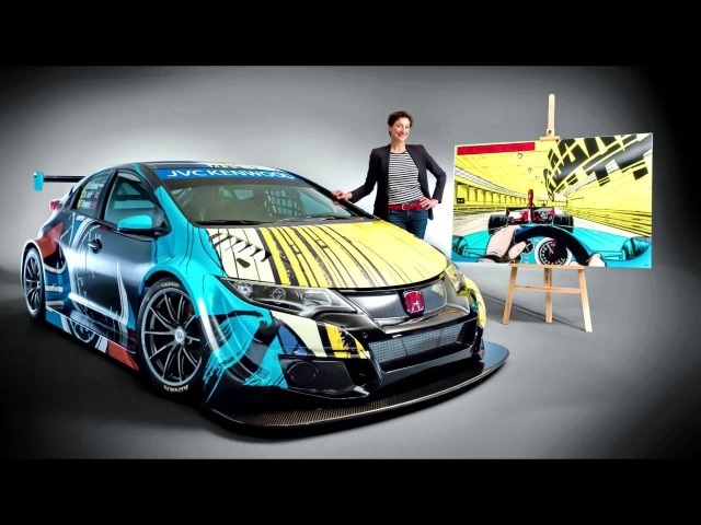 Honda Civic WTCC Art Car Jean Graton '06 2016