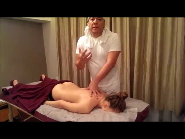 Master of massage Gabriel Ascul. Lesson 7.