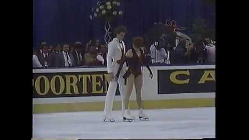 Natalia Bestemianova Andrei Bukin USR - 1987 World Championships FD