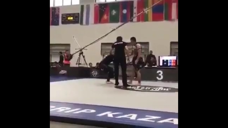 Чудо приём казахского борца