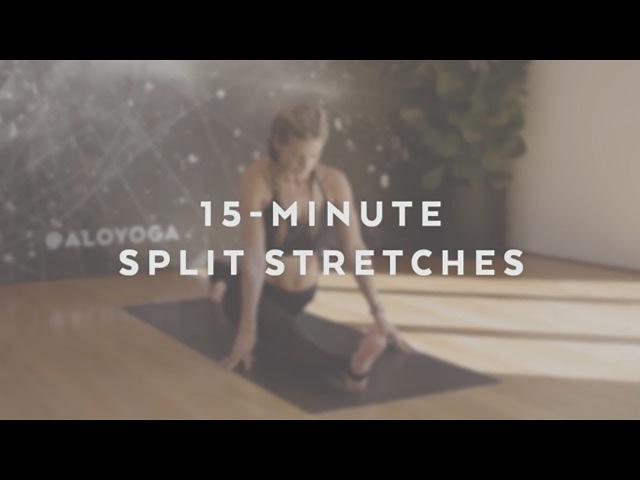 15-Minute Split Stretches With Kylan Fischer