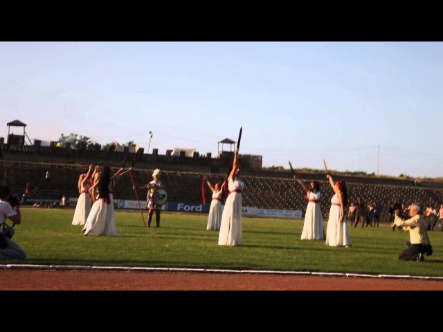 Ninfe Nereidi danze antiche @eagle on the danube 2013 Bulgaria - Mars Dance (danze romane)