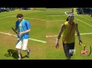 Роджер Федерер vs Рафаель Надаль Wimbledon Virtua Tennis 3