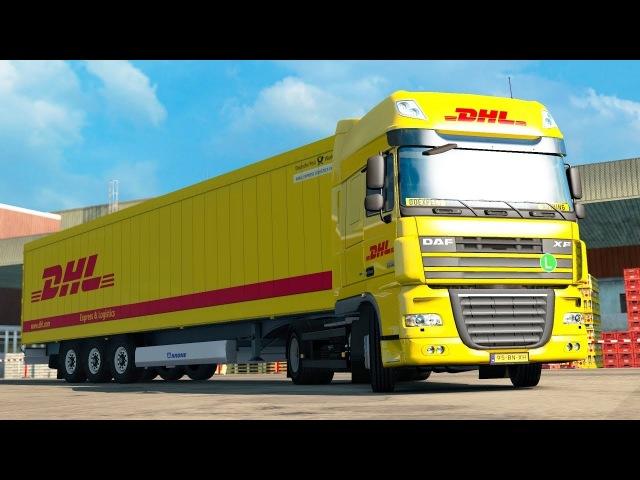 ETS2 1.30 ProMods 2.25 DAF XF105 Eindhoven - Kiel