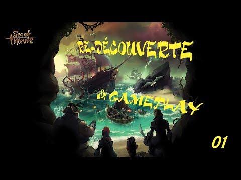 Sea of Thieves - Redécouverte et Gameplay 01 - 1080p60 - Pc Fr