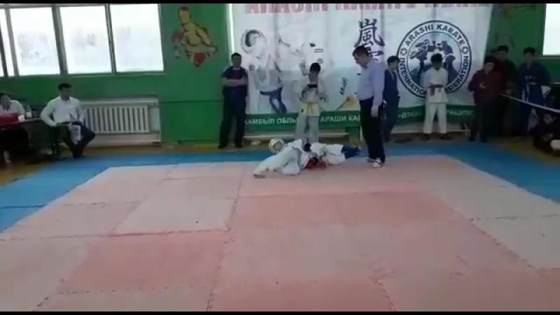 Arashi karate in the city of Taraz