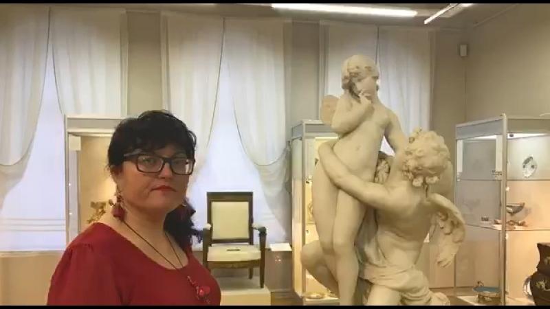 Каслинский чугунский павильон и Княжна Тараканова