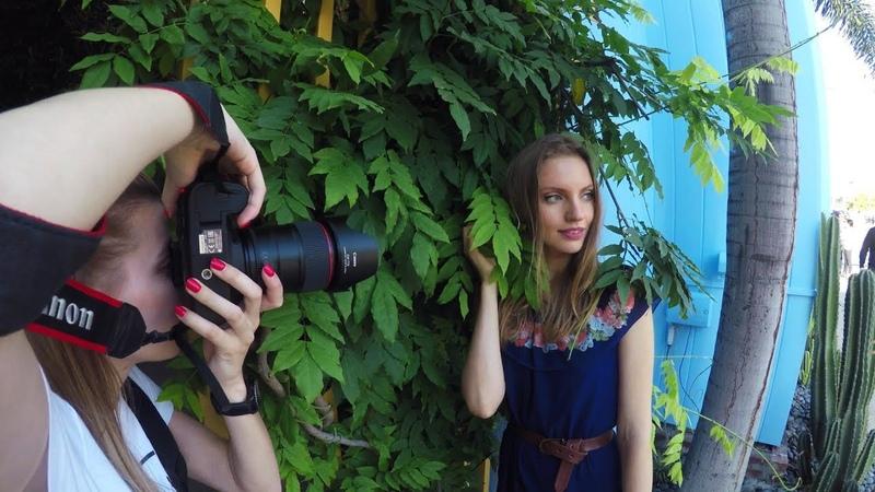 Советы по фотографии (два фотографа и одна модель)