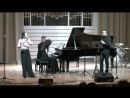 Gillaume Connesson Techno parade for flute clarinet and