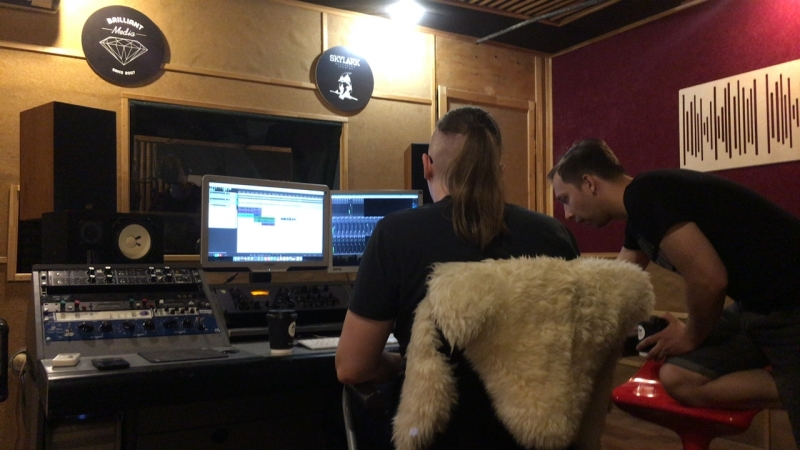 Запись трека для проекта Кирилла Гриднева