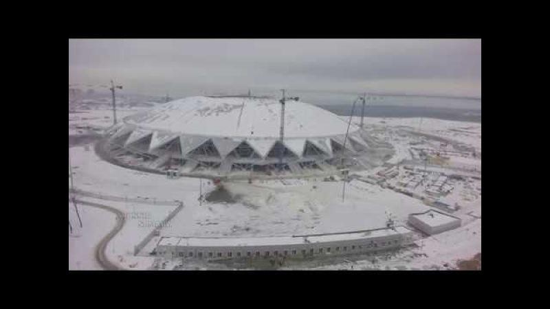 4 линия пешеходной зоны / стадион Самара Арена Samara Russia