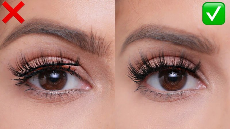FALSE LASHES Do's and Don'ts For Beginners