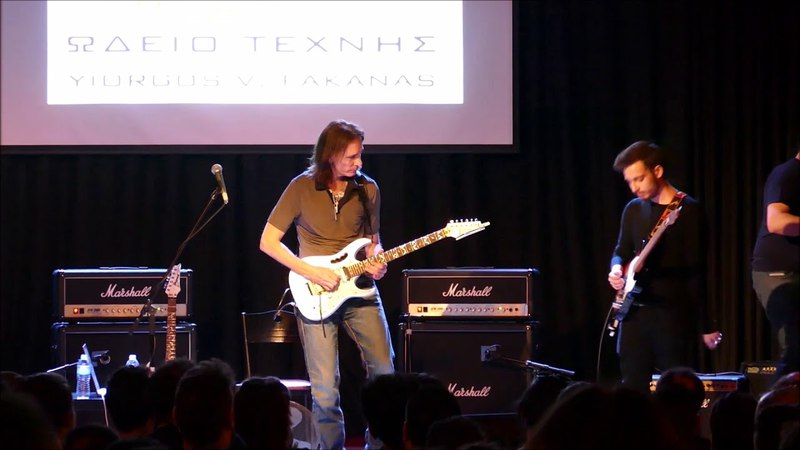 Me Jamming with Steve Vai (Athens, 20.03.18)