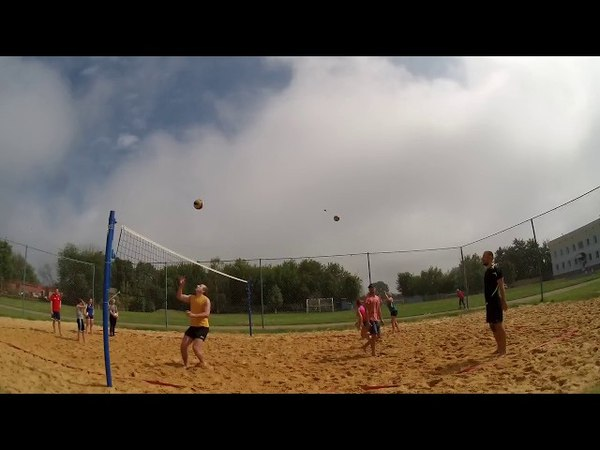 Пляжный волейбол тренировка 2018 05 23