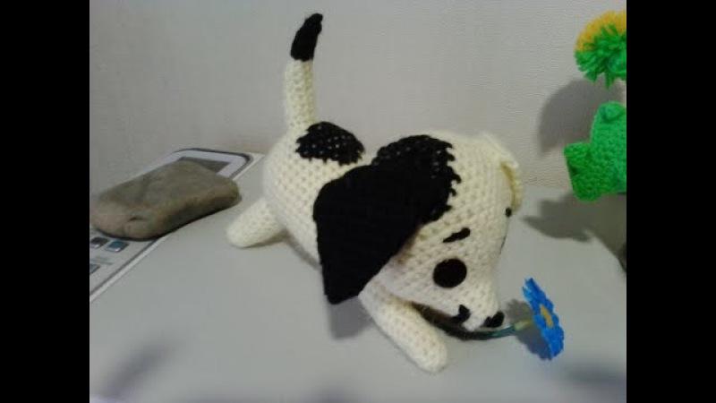 Щенок шалунишка! ч.1. Puppy coddle! р.1. Amigurumi. Crochet. Амигуруми. Игрушки крючком.