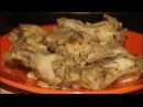 Крылья куриные тушеные с луком / Вкусные крылья