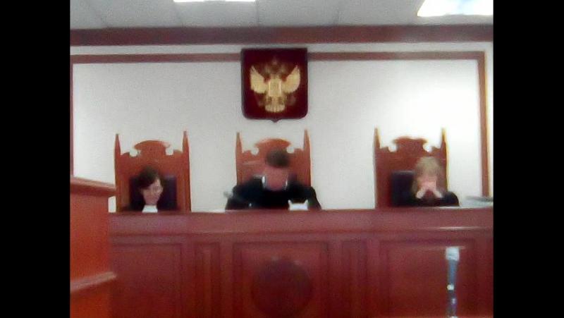 Судилище в Свердловском областном суде по делу Конева А. C.