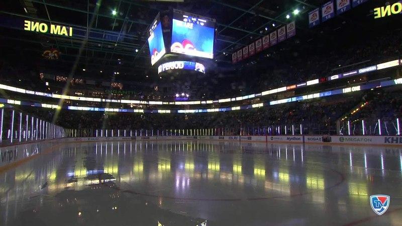 Моменты из матчей КХЛ сезона 14/15 • Лучшие моменты первого периода матча Йокерит - Автомобилист (1:1) 27.10