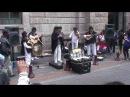 Ñanda Mañachi en las calles de Quito Ecuador