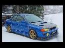 SUBARU TURBO POWER gc8 Snow Fun Drift