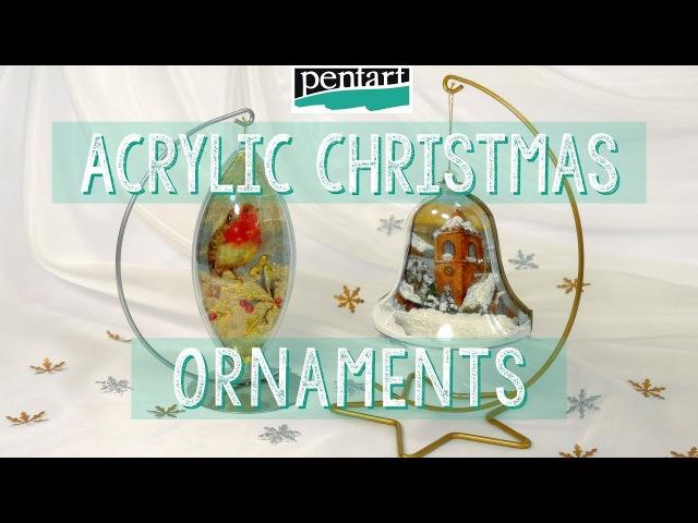 Akril karácsonyfadíszek Acrylic Christmas Ornaments